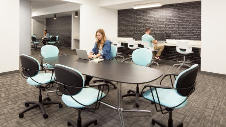 computer, printing, wifi, private and group study rooms, 24 hour