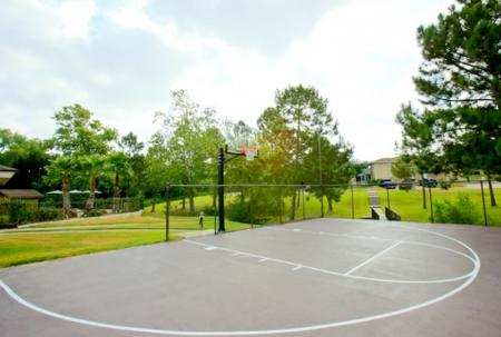 basketball court laurel ridge student apartments