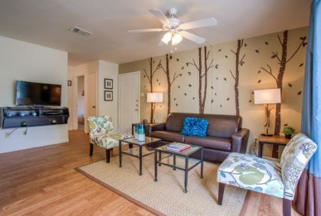 living room apartment in college station