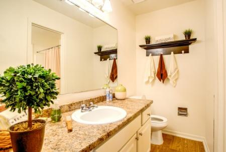 bathroom at laurel ridge