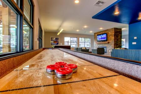 game room at college station apartments