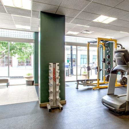 fitness center at columbus state housing complex