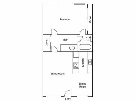 Diverse Floor Plans | Apartments Uc Davis | University Court