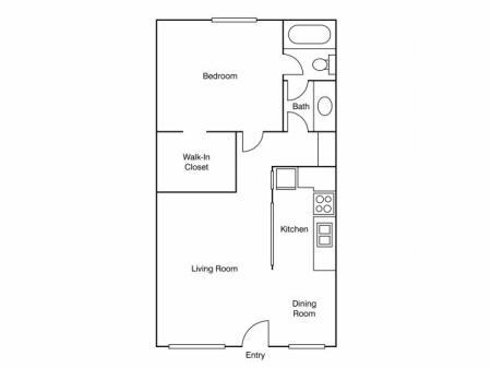Floor Plan 5 | Apartments Uc Davis | University Court