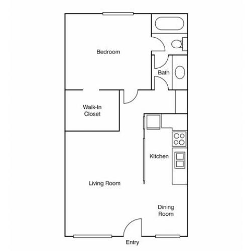 Floor Plan 5   Apartments Uc Davis   University Court