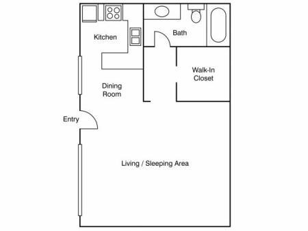 Floor Plan 17 | Apartments Near UC Davis | University Court