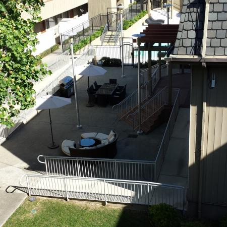 Fenced-in Courtyard | University Court