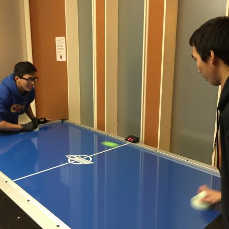Air Hockey | Davis California Apartments for Rent | University Court