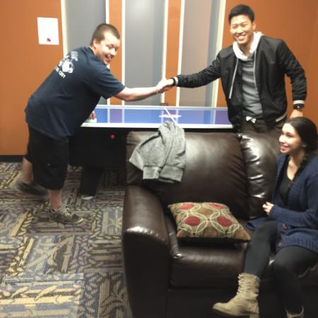 Air Hockey Tournament | Davis California Apartments for Rent | University Court