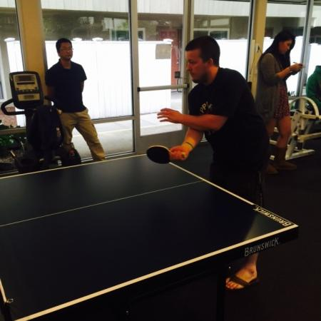 Table Tennis | Apartments in Davis | University Court