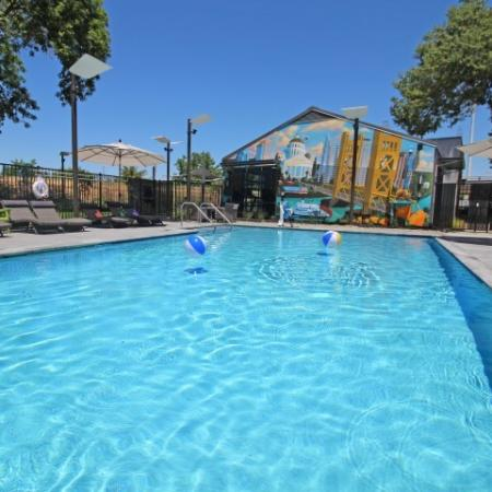 Swimming Pool   Apartments Near Sacramento State   University Village
