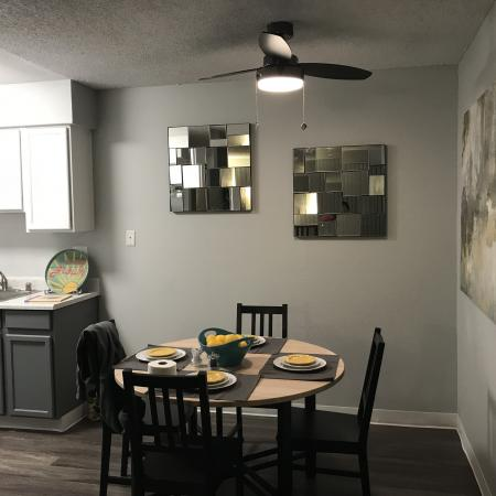 Luxurious Dining Room | 1 Bedroom Apartments Sacramento Ca | The Confluence
