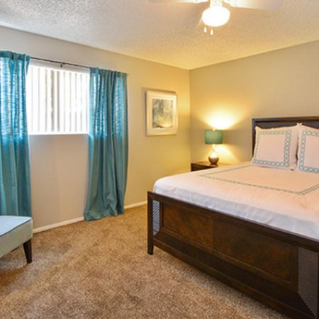 Spacious Master Bedroom | Apartments In Fresno Ca | The Enclave