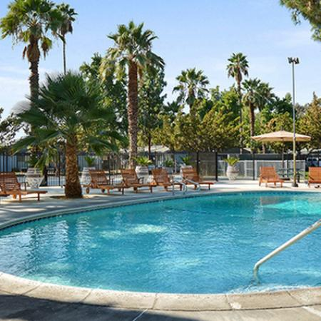 Sparkling Pool | Luxury Apartments Fresno Ca | The Enclave