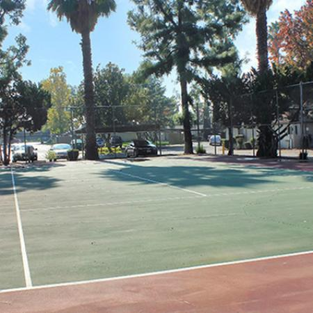 Community Tennis Court | Luxury Apartments Fresno | The Enclave