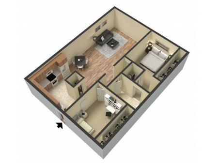 Floor Plan 1   Sacramento Apartments   Villa Regia