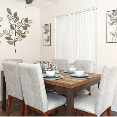 Spacious Dining Room   Sacramento Apartments   Villa Regia