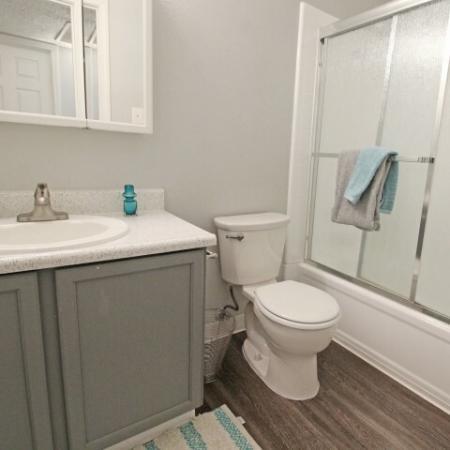 Spacious Bathroom | Apartments In Sacramento | The Confluence