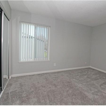 Spacious Bedroom | Sacramento One Bedroom Apartments | The Confluence