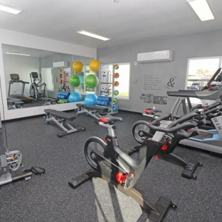 State-of-the-Art Fitness Center | 1 Bedroom Apartments Sacramento Ca | The Confluence