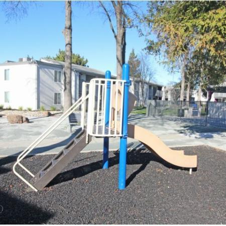 Community Children's Playground | 1 Bedroom Apartments Sacramento Ca | The Confluence