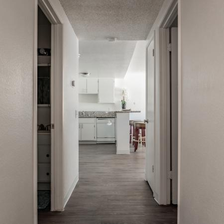 Spacious Hallway | Apartments in Davis, CA | Cottages on 5th