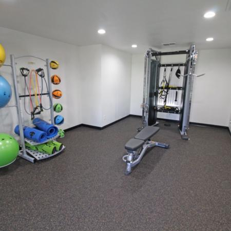 Resident Fitness Center | Apartments Davis, CA | Cottages on 5th
