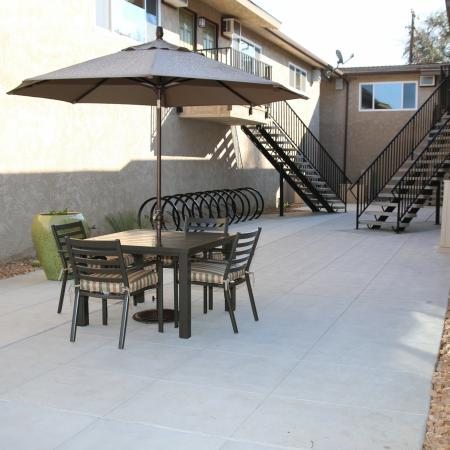 Community Sun Deck | Apartments in Fresno, CA |