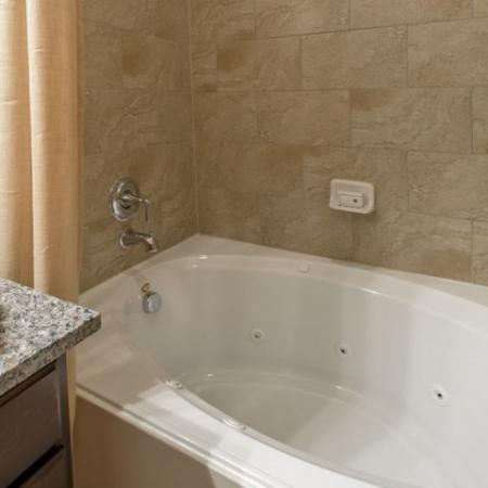 Ornate Bathroom | Apartments In Little Elm TX | The Estates 3Eighty