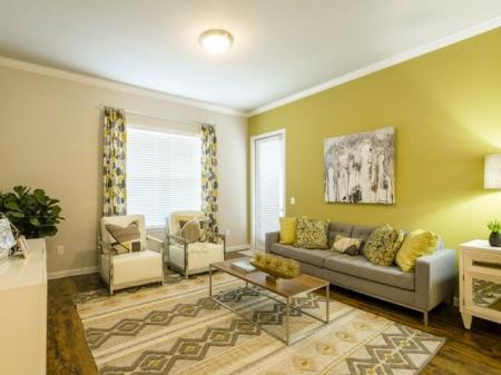 Elegant Living Room   Apartments Little Elm TX   The Estates 3Eighty