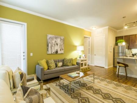 Spacious Living Room   Apartments In Little Elm TX   The Estates 3Eighty
