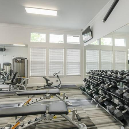Cutting Edge Fitness Center | Apt In Conroe TX | The Grand Estates in the Forest