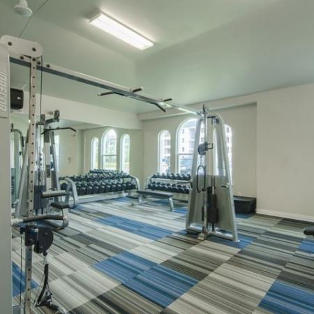 Cutting Edge Fitness Center   Conroe TX Apartments   The Mansions Woodland