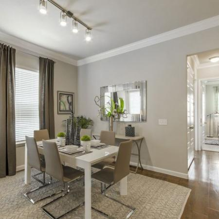 Spacious Dining Room | Apartments The Woodland TX | The Mansions Woodland