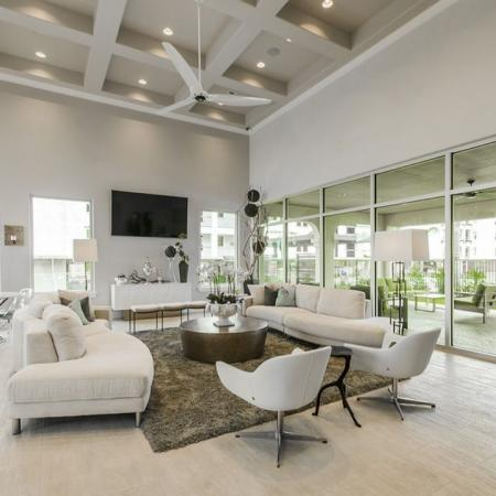 Spacious Resident Club House | Apartments In Kemah TX | The Towers of Seabrook