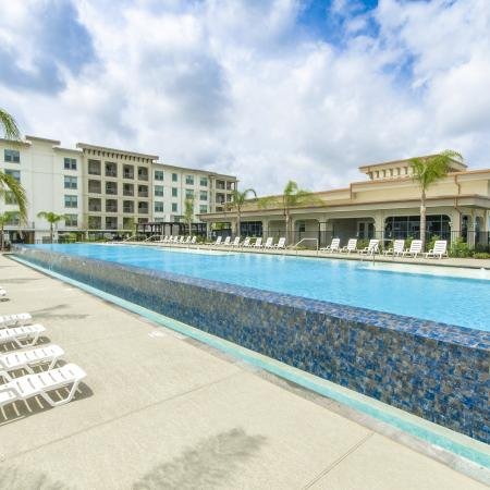 Swimming Pool | Apartments In League City Texas | The Towers of Seabrook