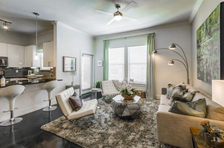 Spacious Living Room | Apartments in Seabrook TX | The Towers of Seabrook