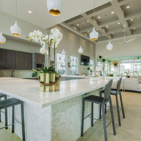 Spacious Community Club House | Seabrook Apartments TX | The Towers of Seabrook