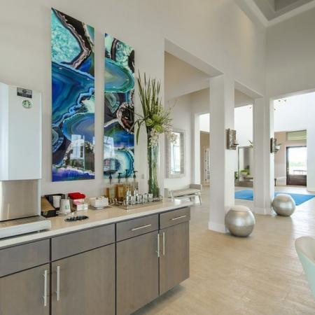 Resident Coffee Bar | Apartments in Seabrook TX | The Towers of Seabrook