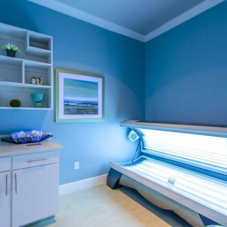 Resident Tanning Bed | Apartments in Seabrook TX | The Towers of Seabrook