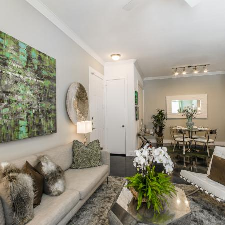 Elegant Living Room | Seabrook TX Apartments | The Towers of Seabrook