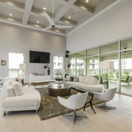 Elegant Community Club House | Apartments Seabrook TX | The Towers of Seabrook