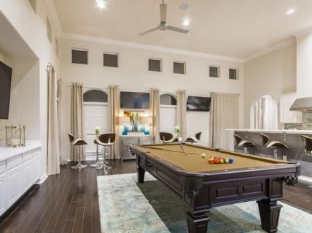 Resident Game Room | Pflugerville Apartments | The Mansions at Stone Hill