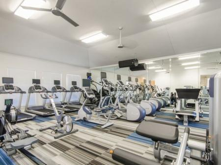 State-of-the-Art Fitness Center | Apartments Pflugerville | The Mansions at Stone Hill