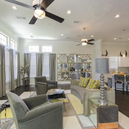 Luxurious Living Room | Apartments In San Antonio | The Estates at Briggs Ranch 2