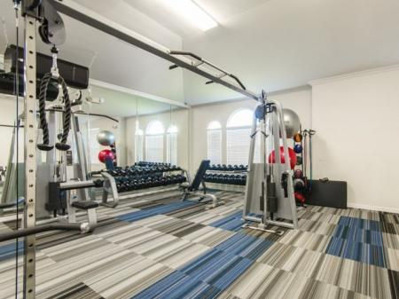 Cutting Edge Fitness Center | Apartments In Pflugerville TX | The Mansions at Stone Hill
