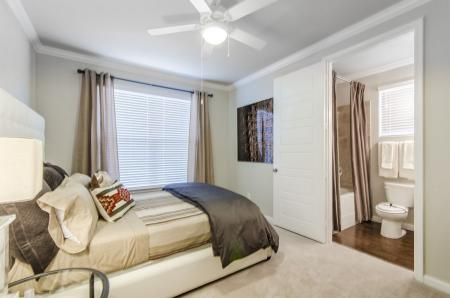 Spacious Bedroom | Apartments Pflugerville TX | The Mansions at Stone Hill 1