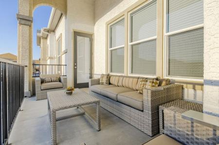 Spacious Porch Area | Pflugerville Apartments For Rent | The Mansions at Stone Hill