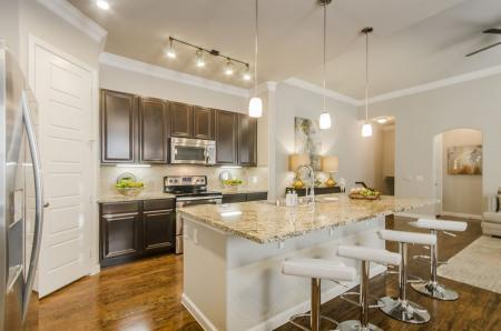 Luxurious Kitchen | Apartments Pflugerville | The Mansions at Stone Hill