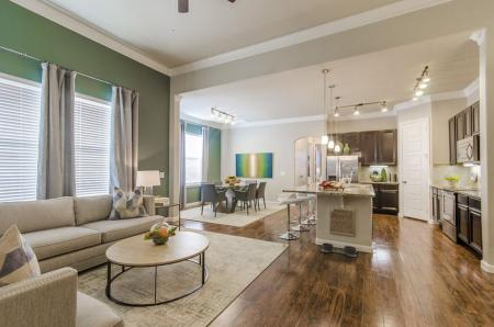 Elegant Living Room | Apartments In Pflugerville | The Mansions at Stone Hill